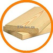 Планкен прямой лиственница АВ размер (1750x140x20)