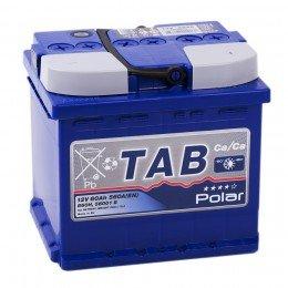 Автомобильный аккумулятор TAB POLAR 60R uni 560А обратная полярность 60 Ач (207x175x190)