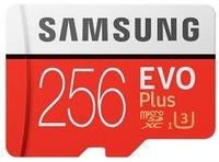 Карта памяти 256GB Samsung MB-MC256GA/RU microSDXC Class 10 UHS-I U3 EVO + V2