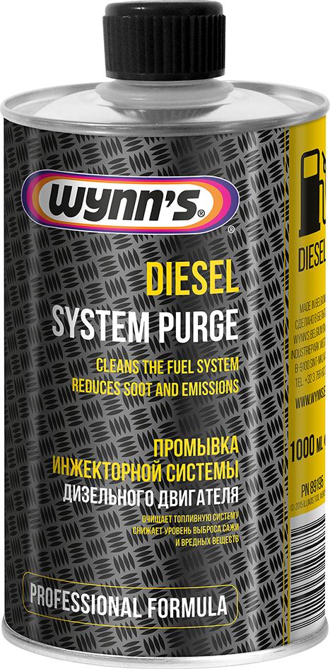 Wynns W89195 DIESEL SYSTEM PURGE (промывка топливной системы) 1л
