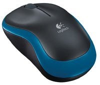 Беспроводная мышь Logitech Wireless Mouse M185 910-002239 (Blue/Black)