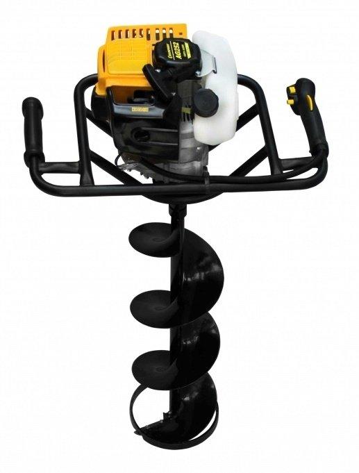 Мотобур CHAMPION AG252 + шнек 200мм