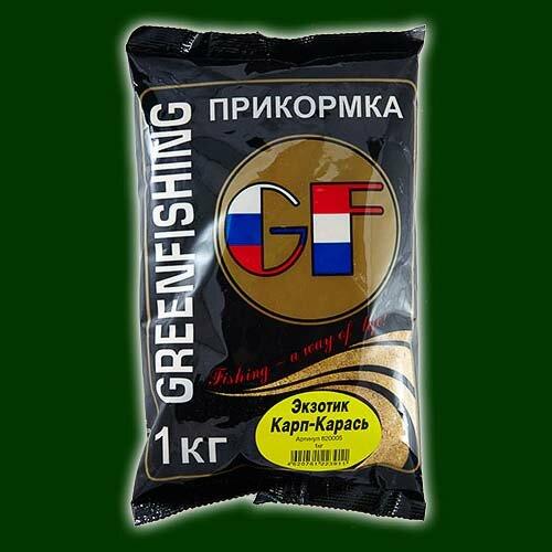 Прикормка GF карп/карась Тутти-Фрутти 1.000кг