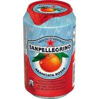 "Напиток ""Sanpellegrino Aranciata Rossa"", газ, 0,33л, ж/б (6шт.)"