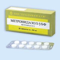 Метронидазол-убф