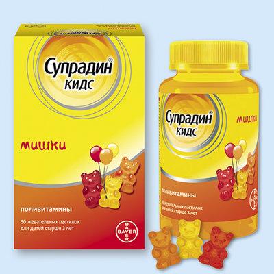 Супрадин® кидс мишки