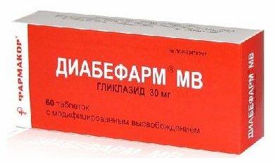 Диабефарм мв