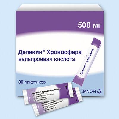 Депакин® хроносфера