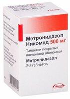 Метронидазол никомед