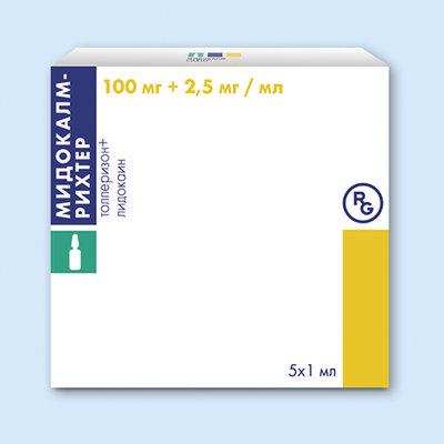 Мидокалм®-рихтер