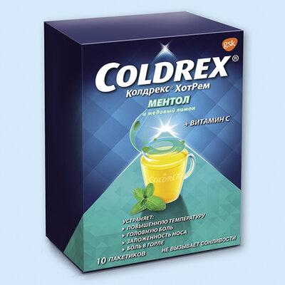 Колдрекс® хотрем ментол и медовый лимон