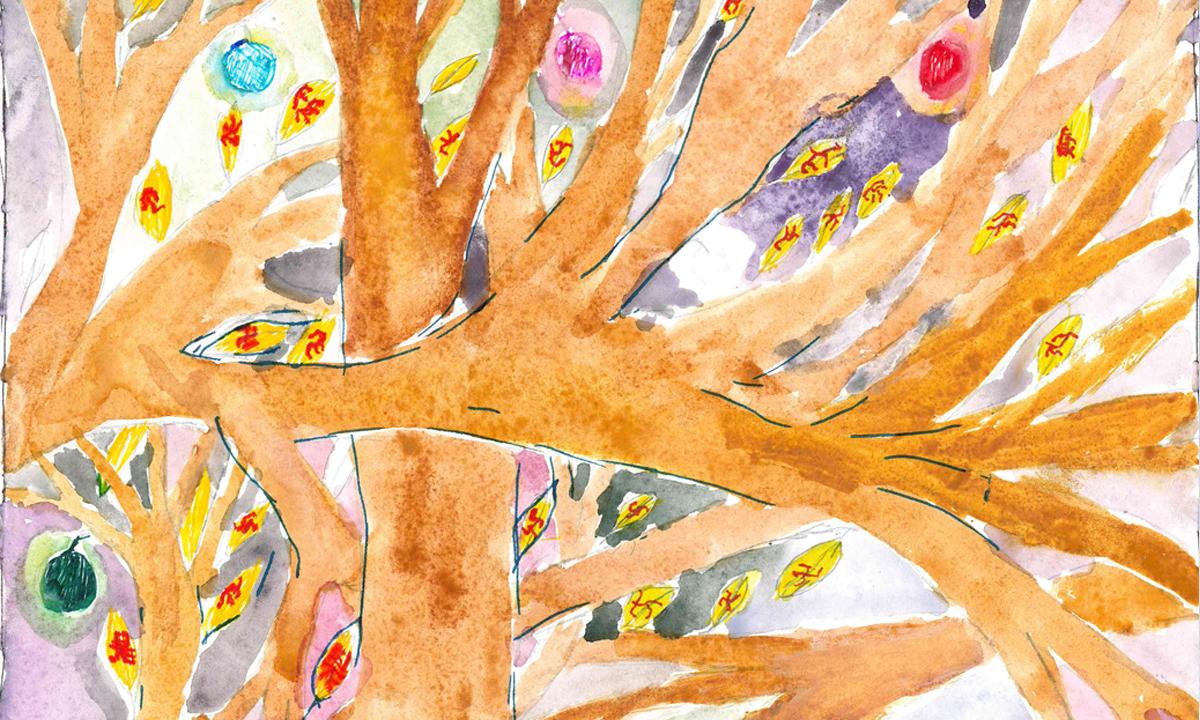 Иллюстрация Петра Балкина к сценарию «Подъём к вершине»
