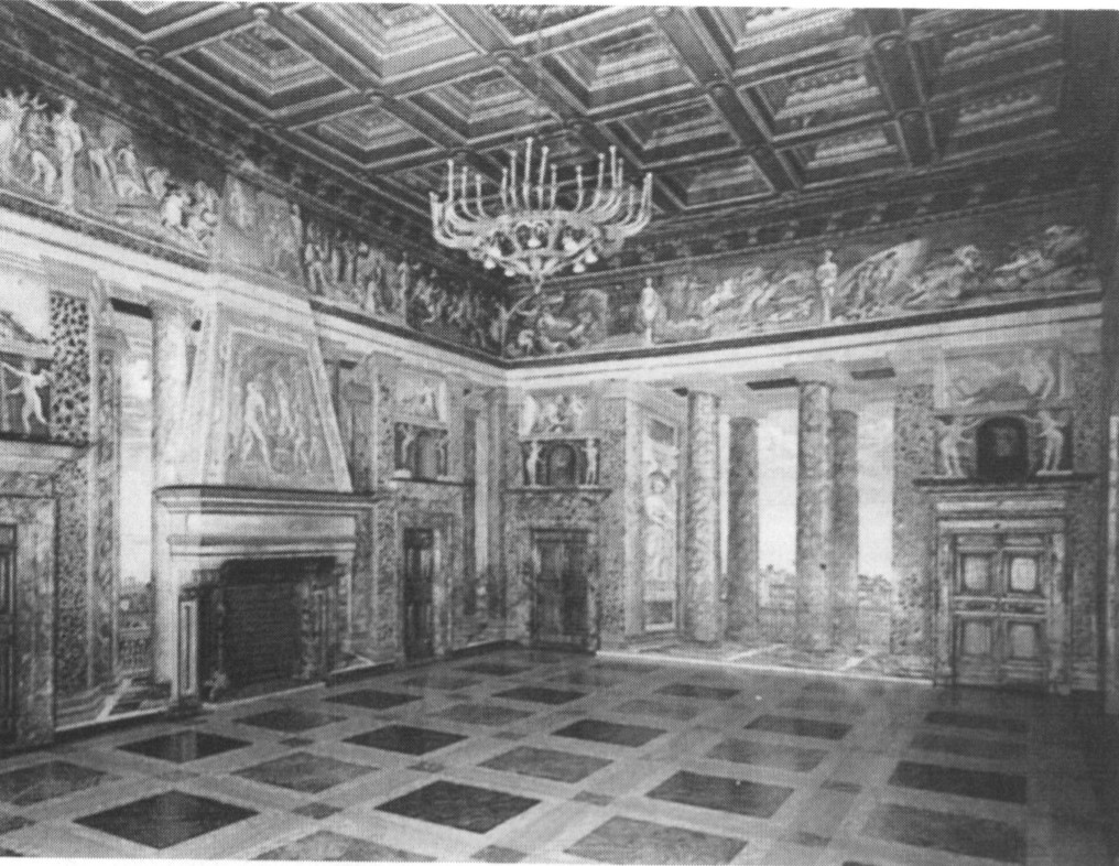 Villa Farnesina, Salone delle Prospettive, Rome, venue of the first General Assembly of the new IMU in 1952.