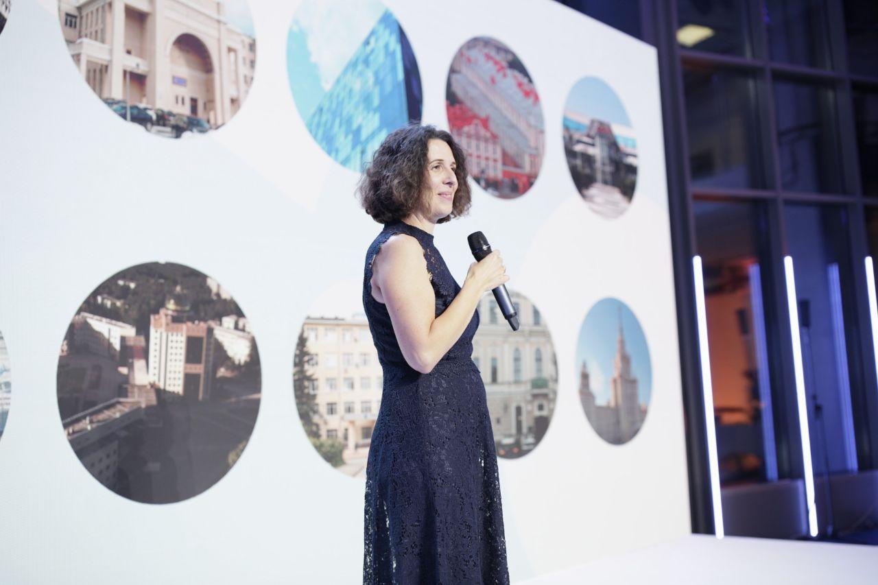 Генеральный директор Яндекса в России Елена Бунина