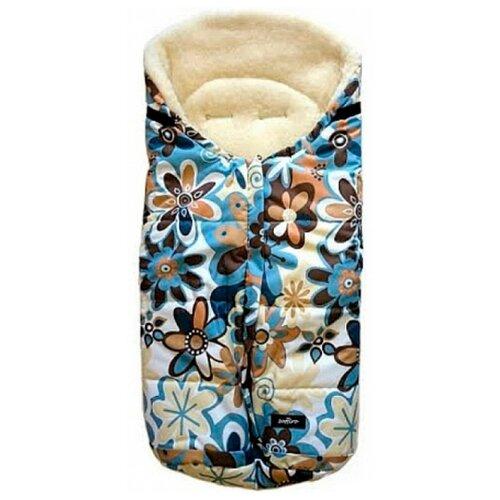 Конверт-мешок Womar Wintry в коляску 16 цветкиКонверты и спальные мешки<br>