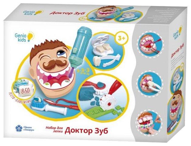 Пластилин Genio Kids Доктор Зуб (TA1041)