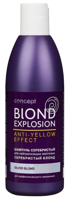 Concept шампунь Blond Explosion anti yellow effect