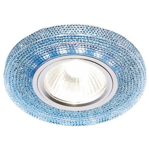 Встраиваемый светильник Ambrella light S290 BL, хром/сапфир светильник ambrella design d5505 bl g