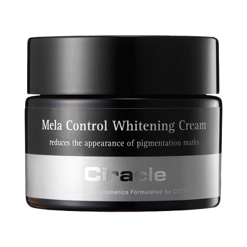 Ciracle Mela Control Whitening Cream Крем ночной для лица осветляющий, 50 мл лучший осветляющий крем для лица