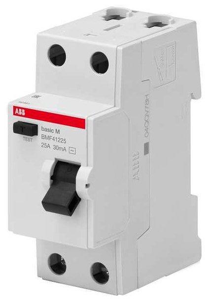 Дифференциальный автомат ABB BMF412 2П 30 мА 25 А