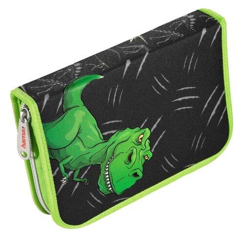 Hama Пенал Hama Dino (139124) черный/зеленый