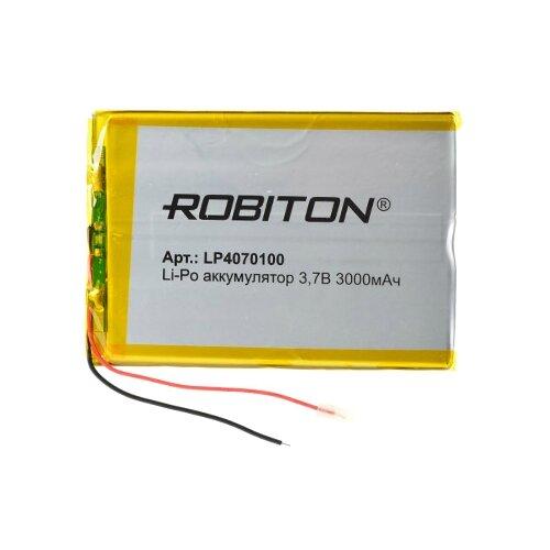 Фото - Аккумулятор ROBITON LP4070100 аккумулятор robiton lp501335