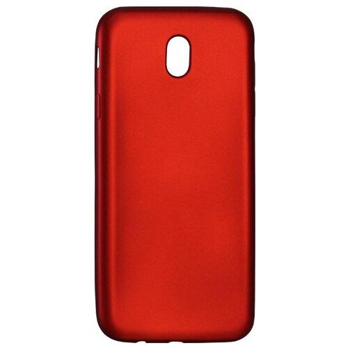 Чехол Volare Rosso Soft-touch для Samsung Galaxy J7 2017 (силикон) красныйЧехлы<br>