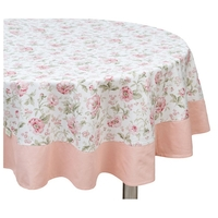 Скатерть Fresca Design English rose с оборкой (so04.2) 160х220 см