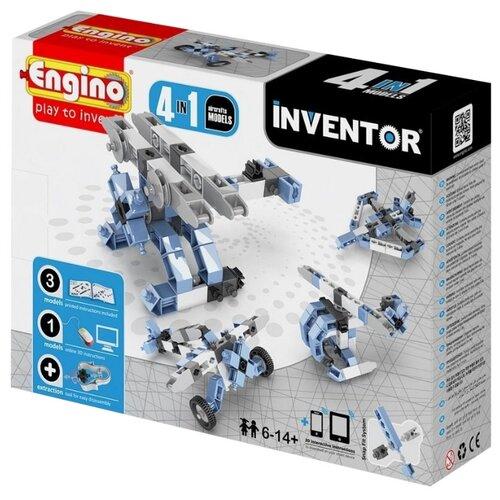 Купить Конструктор ENGINO Inventor (Pico Builds) 0433 Авиация, Конструкторы
