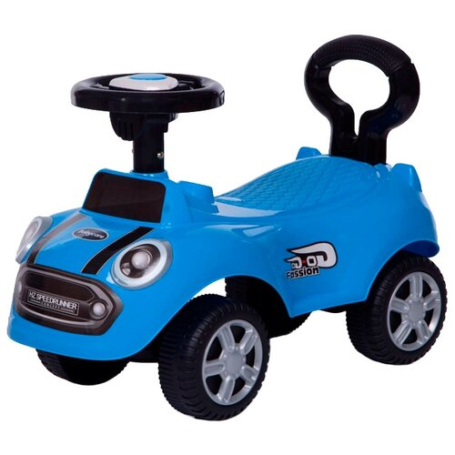 Каталка-толокар Baby Care Speedrunner (616B) со звуковыми эффектами синий каталка толокар baby care fiat 500 620 со звуковыми эффектами белый