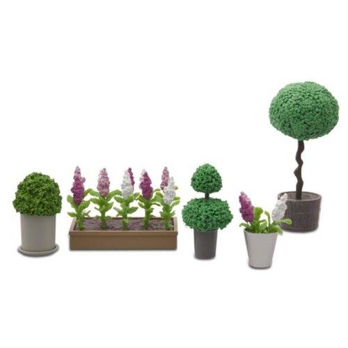 Купить Lundby Набор цветов в горшках Стокгольм (LB_60905500) зеленый, Мебель для кукол