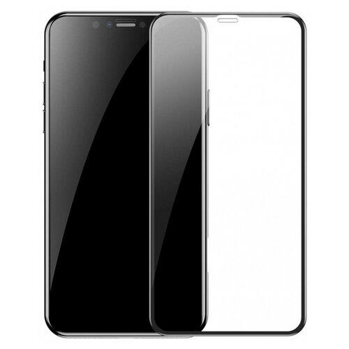 Защитное стекло Baseus Arc-Surface Tempered Glass Film для Apple iPhone XR черный стекло защитное rockmax iphone xr 3d черная рамка