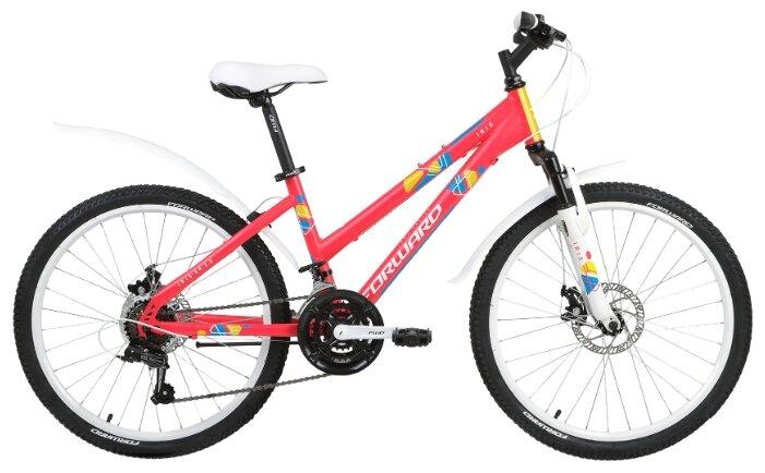 Подростковый горный (MTB) велосипед FORWARD Iris 24 2.0 Disc (2019)
