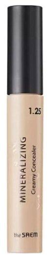 Купить The Saem Консилер Mineralizing Creamy Concealer, оттенок 1.25 creamlatte по низкой цене с доставкой из Яндекс.Маркета