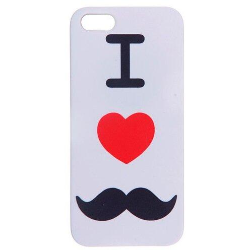 Чехол Mitya Veselkov IP5.МITYA-046 для Apple iPhone 5/iPhone 5S/iPhone SE i love усикиЧехлы<br>
