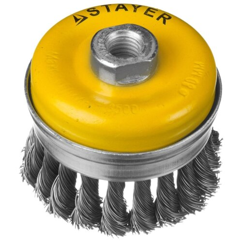 Кордщетка STAYER 35137-100 кордщетка stayer professional 35128 120