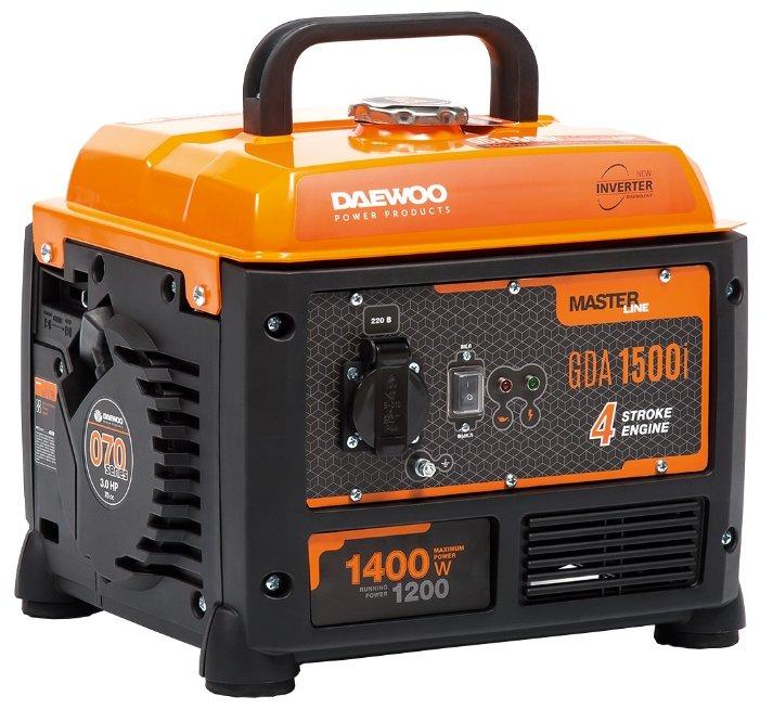 Бензиновый генератор Daewoo Power Products GDA 1500I (1200 Вт)