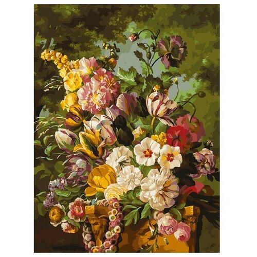 Купить Белоснежка Картина по номерам Букет в саду 30х40 см (265-AS), Картины по номерам и контурам