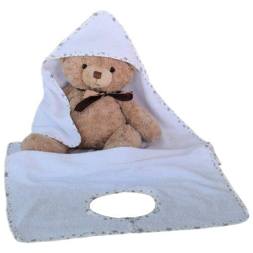 BabyBunny Полотенце фартук банное 70х140 см белоеПолотенца<br>