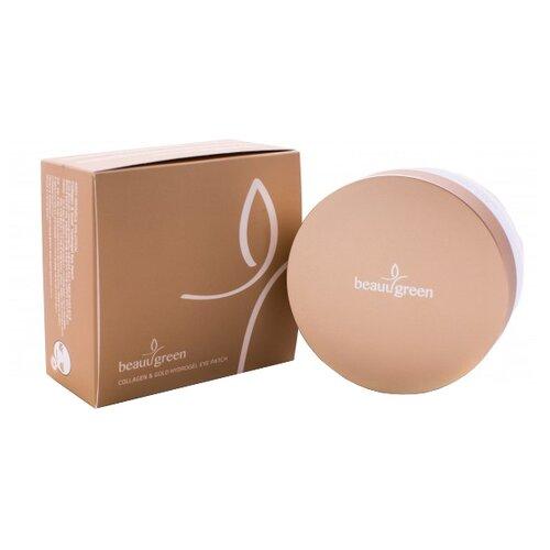 Beauugreen Гидрогелевые патчи для глаз с коллагеном и коллоидным золотом Hydrogel Collagen & Gold Eye Patch, premium pack (60 шт.) гидрогелевые патчи beauugreen