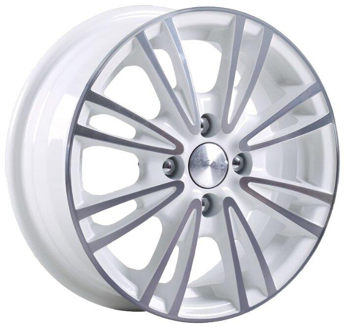 Колесный диск SKAD Пантера 6x15/4x114.3 D67.1 ET45 Алмаз белый