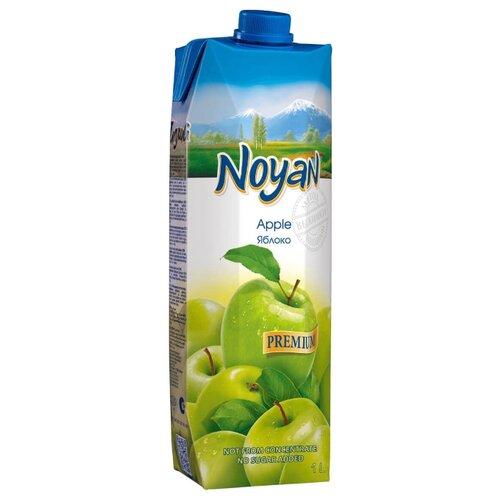 Сок Noyan Яблоко с мякотью, с крышкой, без сахара, 1 л noyan яблочный сок premium 200 мл