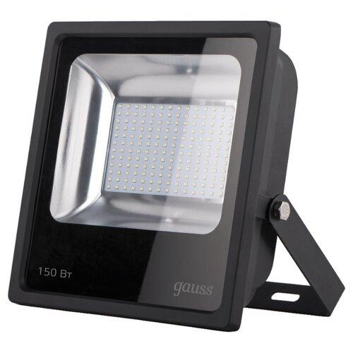 Прожектор светодиодный 150 Вт gauss 613100150 LED IP65 6500К прожектор gauss светодиодный elementary 20w 6500к 628511320