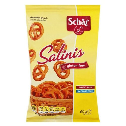 Печенье Schar Salinis, 60 гПеченье, крекер<br>