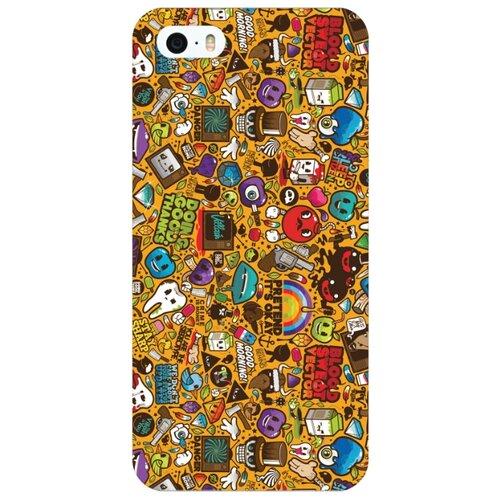 Купить Чехол Mitya Veselkov IP5.МITYA-287 для Apple iPhone 5/iPhone 5S/iPhone SE стикербомбинг