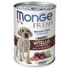 Корм для щенков Monge Fresh телятина с овощами 400г