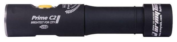 Ручной фонарь ArmyTek Prime C2 Pro XHP35 Magnet USB (теплый свет) + 18650 Li-Ion