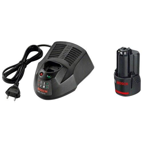 Комплект BOSCH 1600Z00041 10.8 В 2 А·ч аккумуляторный блок bosch 1600z0002x 12 в 2 а·ч