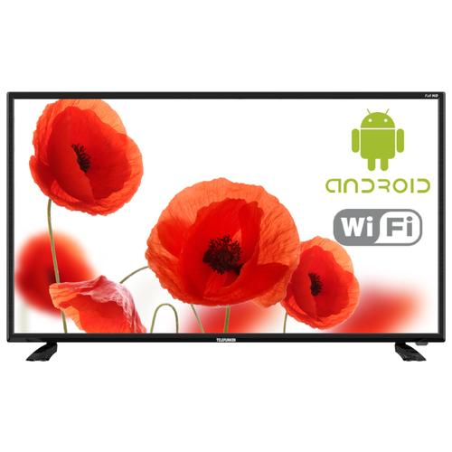 Фото - Телевизор TELEFUNKEN TF-LED40S43T2S 40 (2018) черный телевизор telefunken 31 5 tf led32s74t2 черный