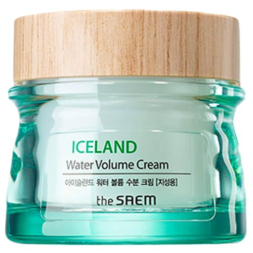 The Saem Iceland Water Volume Hydrating Cream(For Oily Skin) Крем минеральный для лица, 80 мл